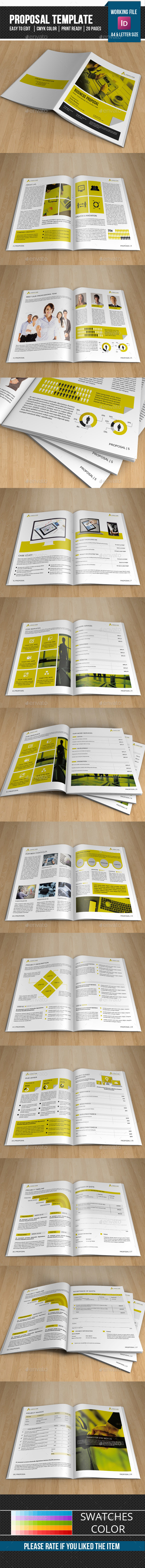 Corporate Proposal Template-V322 - Proposals & Invoices Stationery