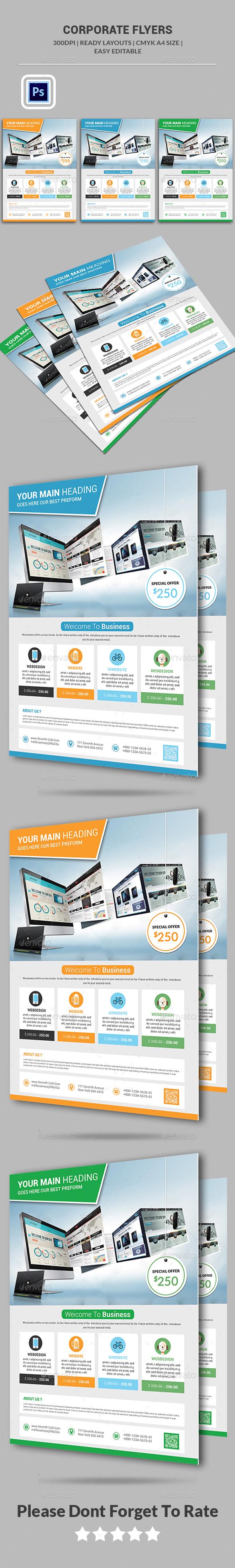 Website Design Agency Flyer - Corporate Flyers