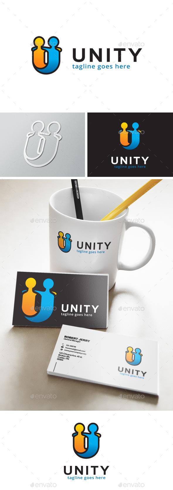 Unity Logo - Humans Logo Templates