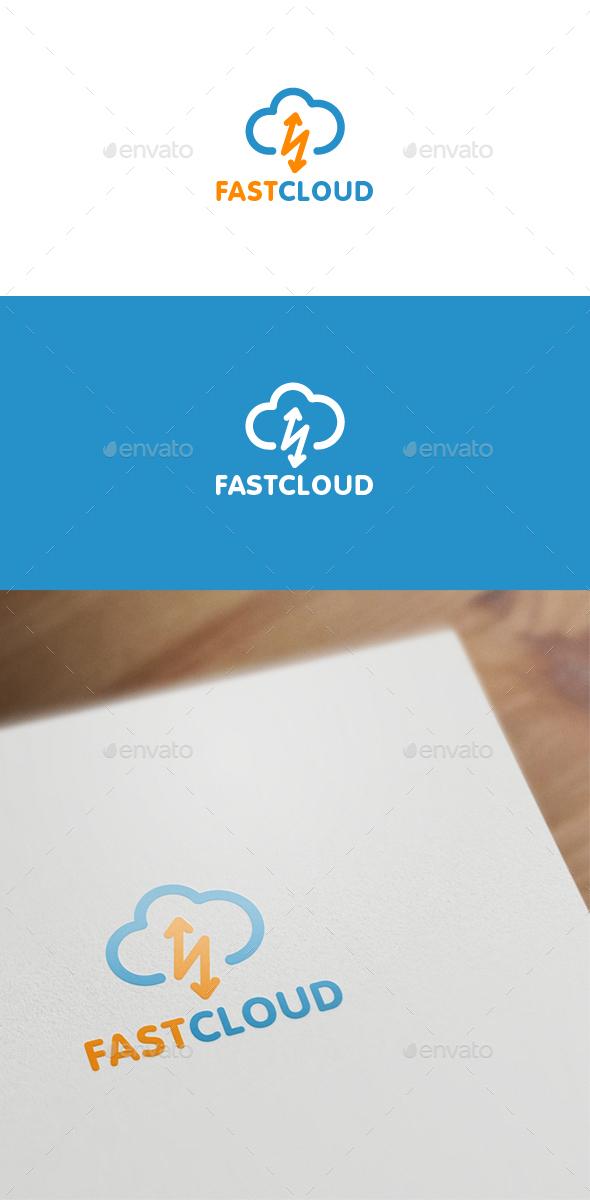 Fast Cloud - Symbols Logo Templates