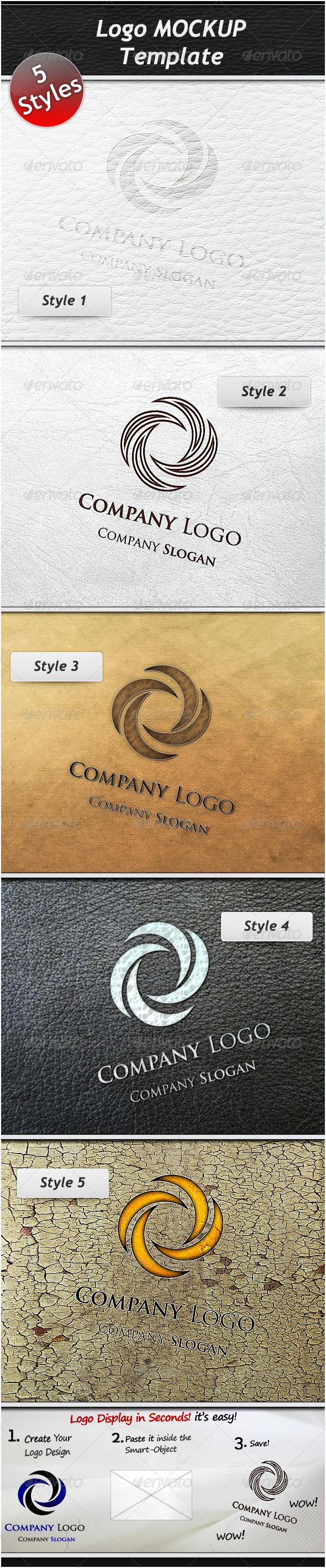 Logo Mockup Template - Logo Product Mock-Ups