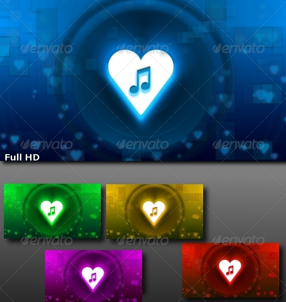 Love Song - Backgrounds Pack