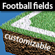 Customizable football & soccer fields - GraphicRiver Item for Sale