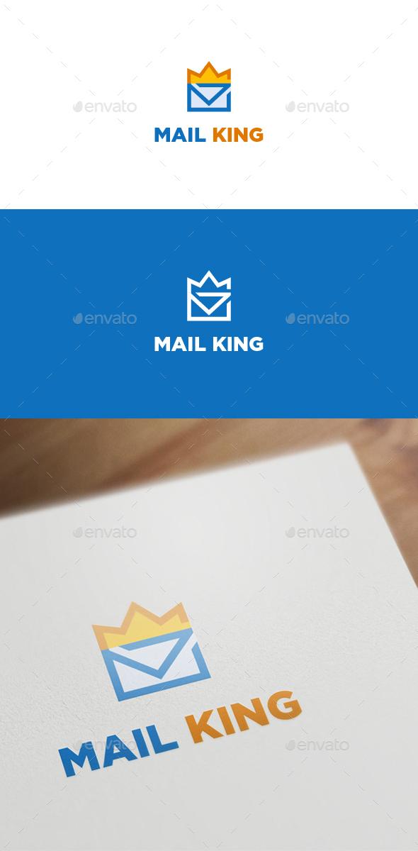 Mail King - Symbols Logo Templates