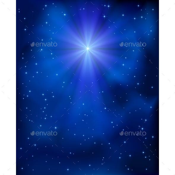 Christmas Star in the Sky - Christmas Seasons/Holidays