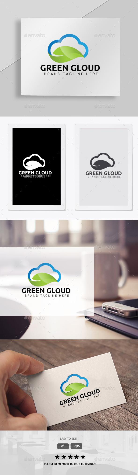Green Cloud - Symbols Logo Templates