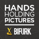 Hands Holding Pictures - VideoHive Item for Sale