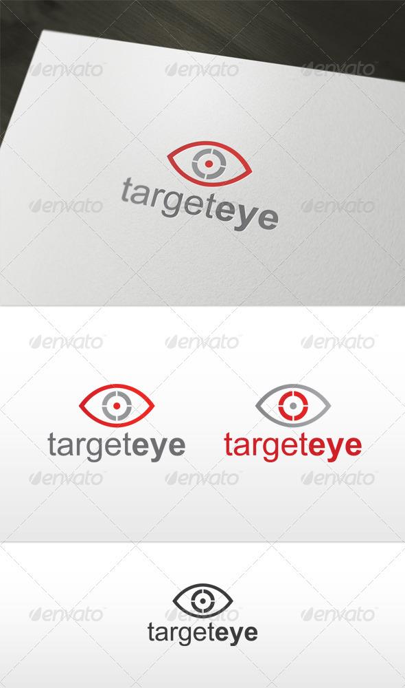 Target Eye Logo - Symbols Logo Templates