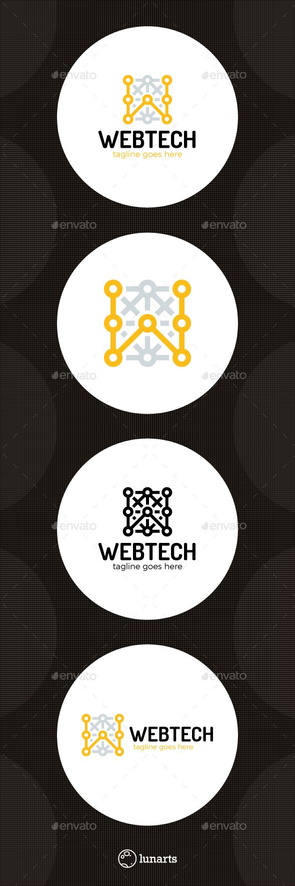 Web Tech Logo - Letter W - Letters Logo Templates
