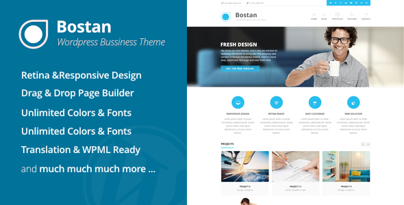 Bostan Business - Business Theme