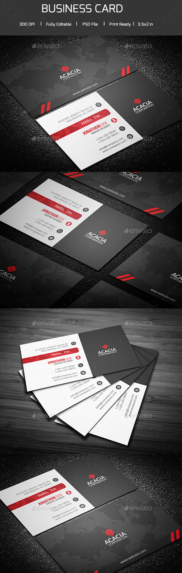 Proxima Business Card - Corporate Business Cards