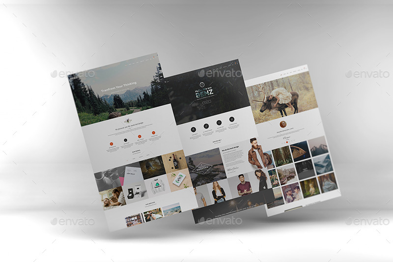 3d Web Showcase Mockups By Wutip Graphicriver