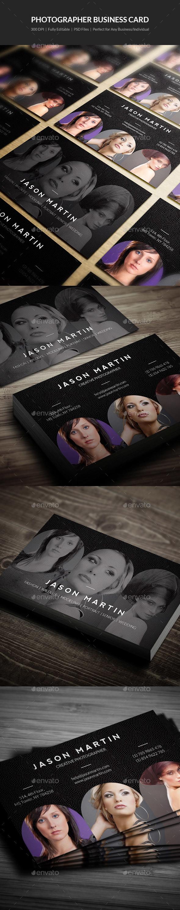 Photographer Business Card - 14 - Creative Business Cards