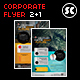 Corporate Flyer + Facebook Cover - GraphicRiver Item for Sale