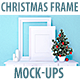 Christmas Frame Mockup - GraphicRiver Item for Sale