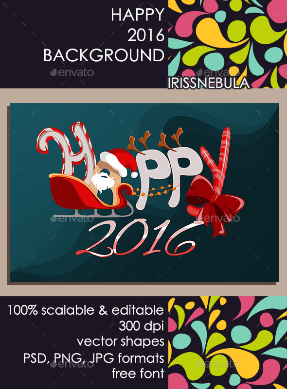Happy Holidays Background - Backgrounds Graphics