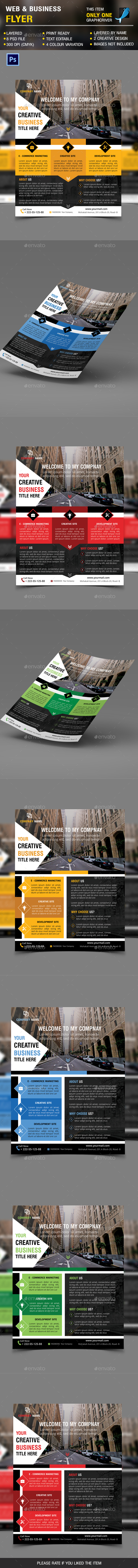 Web & Business Flyer - Corporate Flyers
