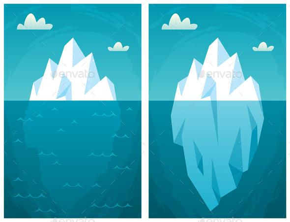 Iceberg - Nature Conceptual