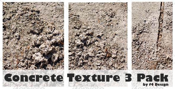 Concrete Texture 3 Pack - Concrete Textures