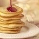Stack Of Home-cooked Pancakes With Pouring Jam - VideoHive Item for Sale