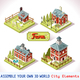 Farm Tiles 02 Set Isometric - GraphicRiver Item for Sale