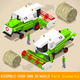 Thresher 03 Vehicle Isometric - GraphicRiver Item for Sale