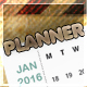 Planner 2016 - GraphicRiver Item for Sale