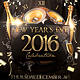 NYE Celebration Flyer - GraphicRiver Item for Sale