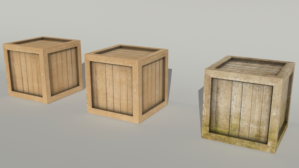 Crates collection