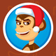 Monkey Avatar Emotions on the Face - GraphicRiver Item for Sale
