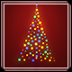 Music Lights on Tree - Christmas Greetings - VideoHive Item for Sale
