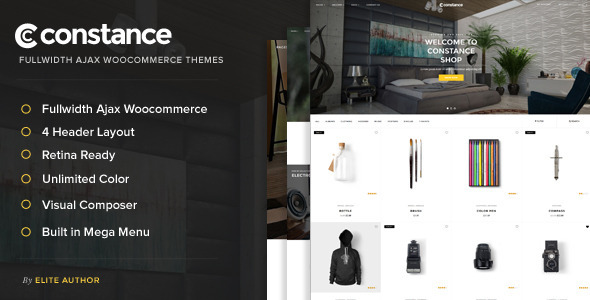 Constance – Full Width AJAX WooCommerce Theme
