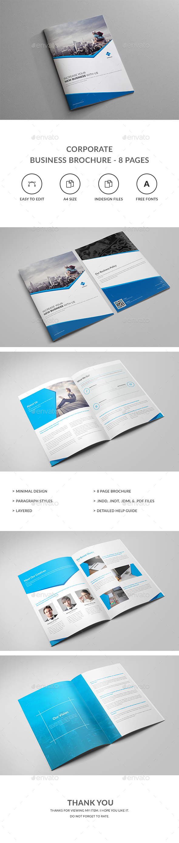 Corporate Business Brochure - 8 Pages - Corporate Brochures