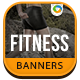 Gym & Fitness Banners - GWD - 7 Sizes