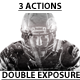 Double Exposure Action Pack - GraphicRiver Item for Sale