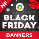 HTML5 Black Friday Banners - GWD - 7 Sizes - CodeCanyon Item for Sale