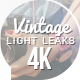 Vintage Light Leaks - VideoHive Item for Sale