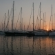 Sailing Boats In Marina At a Sunset  - VideoHive Item for Sale