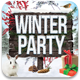 Winter Party Flyer Template v2 - GraphicRiver Item for Sale