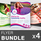 Spa & Beauty Salon Flyer Bundle | Volume 5 - GraphicRiver Item for Sale