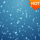 Full Sreen Snow Falling Loop - VideoHive Item for Sale