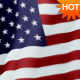 US American Flag Loop - VideoHive Item for Sale