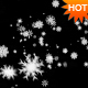 Snow Flakes Falling Looped w/ Alpha Channel - VideoHive Item for Sale