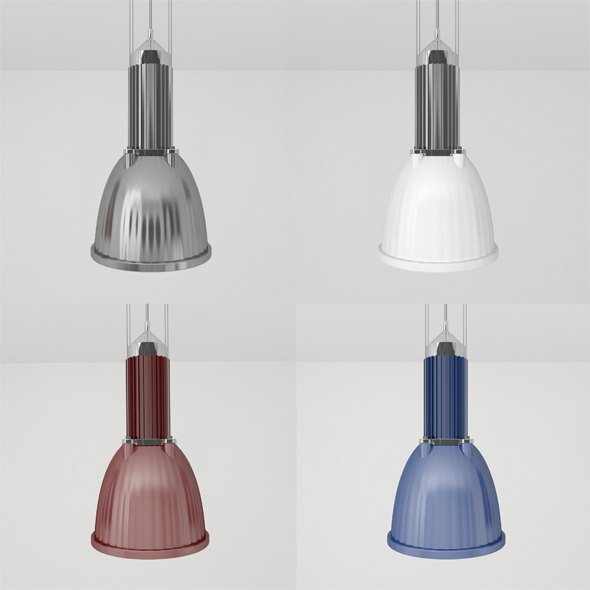 Pendant Luminaire - 3DOcean Item for Sale