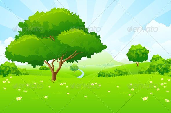 Tree Landscape - Landscapes Nature