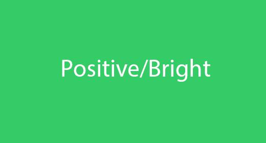 Positive Bright