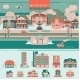 Big Set With City Infographic Objects.  - GraphicRiver Item for Sale
