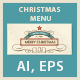 Christmas Food Menu - GraphicRiver Item for Sale