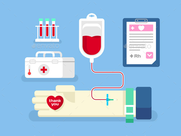 Blood Donation Concept - Health/Medicine Conceptual