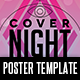 Cover Night Poster Template - GraphicRiver Item for Sale